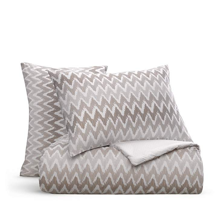 Bloomingdale's Essentials Chevron Comforter Set, King - 100% Exclusive