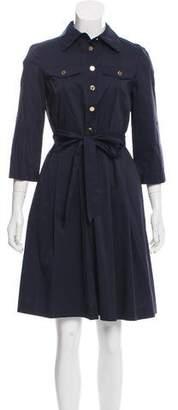 Tory Burch Collared A-Line Dress