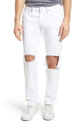 Frame L'Homme Skinny Fit Jeans (White Out)