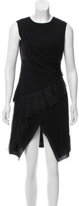 J. Mendel Wool & Silk Knee-Length Dress