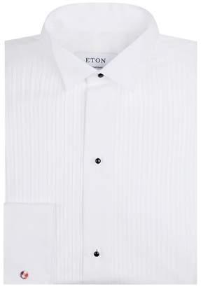 Eton Plissé Wing Collar Shirt
