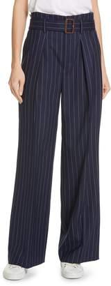 Polo Ralph Lauren Pinstripe Wool Leg Pants
