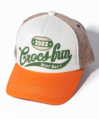 Crocs (クロックス) - クロックスキッズウェア CROCS Crocs fun英字キャップ