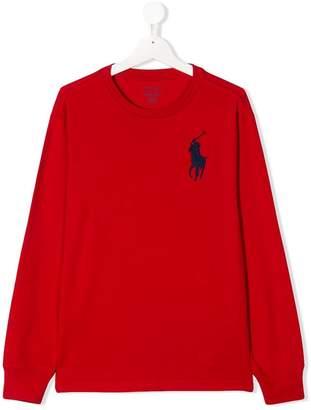 Ralph Lauren TEEN Big Pony embroidered T-shirt