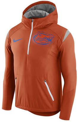 Nike Men's Florida Gators Fly-Rush Quarter-Zip Hoodie