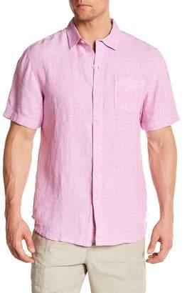 23735d9bc ... Tommy Bahama Party Breezer Linen Short Sleeve Modern Fit Shirt