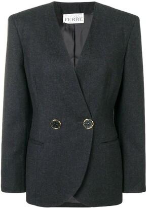 Gianfranco Ferre Pre-Owned wrap blazer