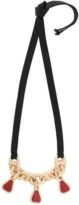 Marni chain pendant necklace
