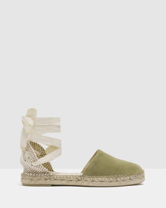 Mapache Valenciana Espadrille Flat Sandals