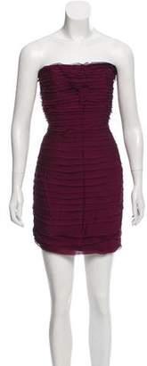 Alice + Olivia Silk Ruffled Dress w/ Tags