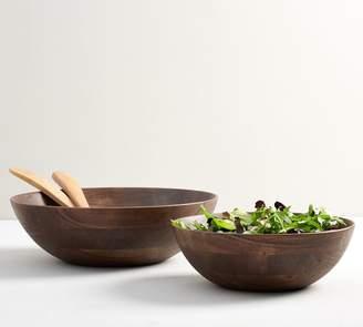 Pottery Barn Chateau Wood Salad Bowls