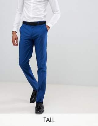 Farah Wedding skinny suit pants in blue