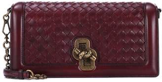 Bottega Veneta Knot leather clutch