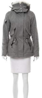 SAM. Wool Hooded Jacket