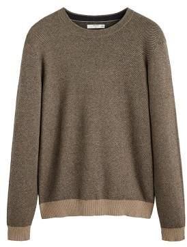 Blend of America Mango Man MANGO MAN Cotton and cashmere fabric sweater