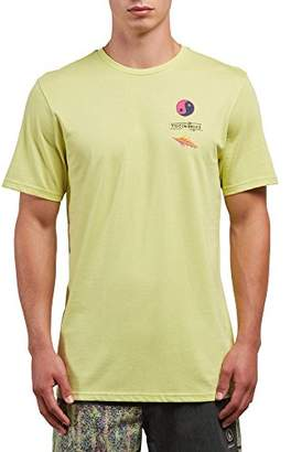 Volcom Men's Neon Levitate Short Sleeve Graphic Tee