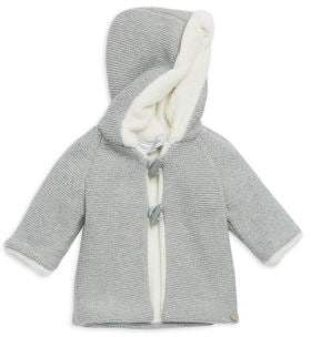 Tartine et Chocolat Baby Girl's& Little Girl's Faux Fur-Trim Knitted Coat