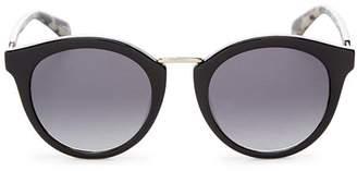 Kate Spade Women's Joylyn Round Sunglasses, 50mm