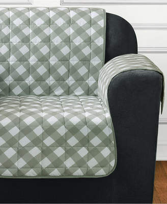 Sure Fit Furniture Flair Quilted Chair Slipcover