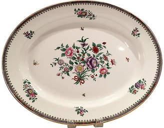 One Kings Lane Vintage Spode Lowestoft Serving Platter