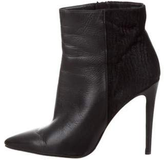 LK Bennett Leather Ankle Booties Black Leather Ankle Booties