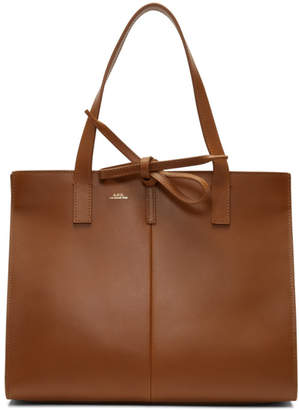 A.P.C. Brown Emy Tote