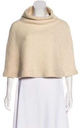 Ralph Lauren Black Label Rib Knit Poncho