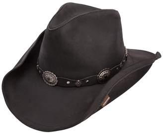 "Stetson Roxbury"" Shapeable Leather Western Hat"