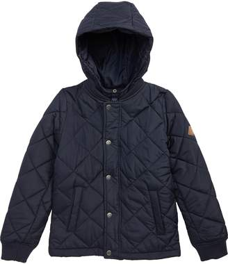 Joules Quilted Bomber Jacket