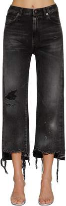 R 13 Camille High-rise Distressed Denim Jeans