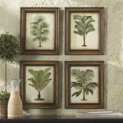 Tropical Palm Prints