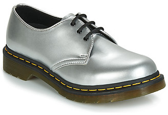 Dr. Martens 1461 Vegan women's Casual Shoes in Silver
