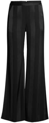 Rebecca Vallance Dolores Striped Wide-Leg Pants