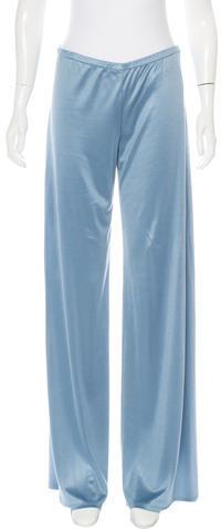 Emilio PucciEmilio Pucci Silk Wide-Leg Pants