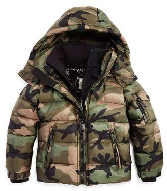 SAM. Boys' Camo Glacier Down Jacket - Big Kid