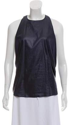 Helmut Lang Sleeveless Halter Top