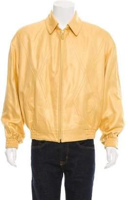 Zilli Silk Zip-Front Jacket