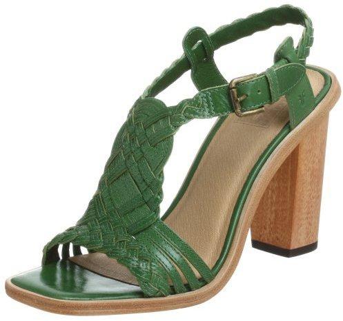 FRYE Women's Rose Woven T-Strap Sandal