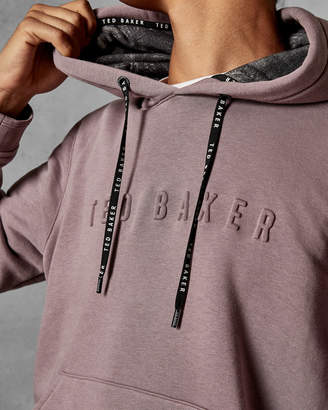 Ted Baker KENSY Logo cotton blend hoodie