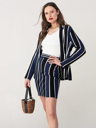 Diane von Furstenberg Mala Knit Mini Skirt