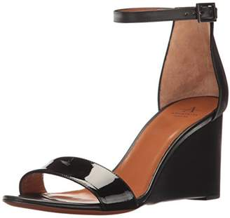 Aquatalia Women's Nina Patent/Calf Dress Sandal