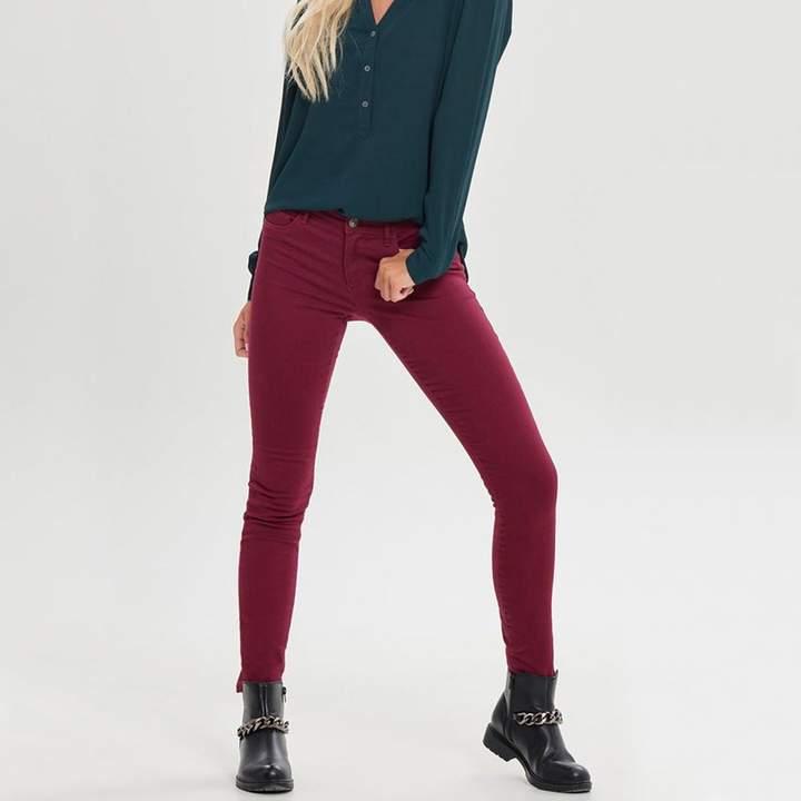 High Waist Skinny Trousers, Length 32