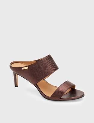Calvin Klein cecily heel mule sandal