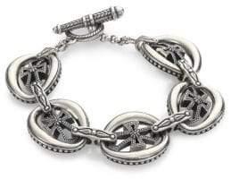 Konstantino Penelope Sterling Silver Cross Link Bracelet