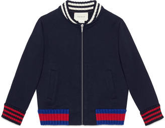 Children's cotton jacket with Web $330 thestylecure.com
