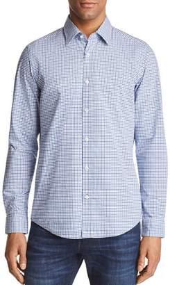 BOSS Lukas Grid Regular Fit Button-Down Shirt