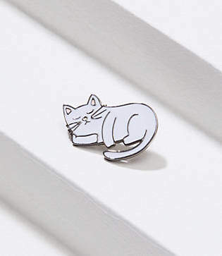 LOFT Cat Nap Enamel Pin