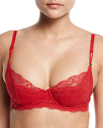 Stella McCartney Poppy Playing Lace/Foam Balconette Bra
