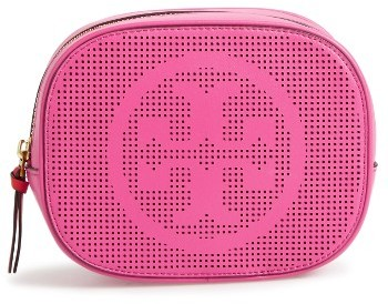 Tory Burch Tory Burch Perforated Leather Cosmetics Case