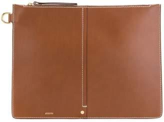 Joseph XL zip pouch bag